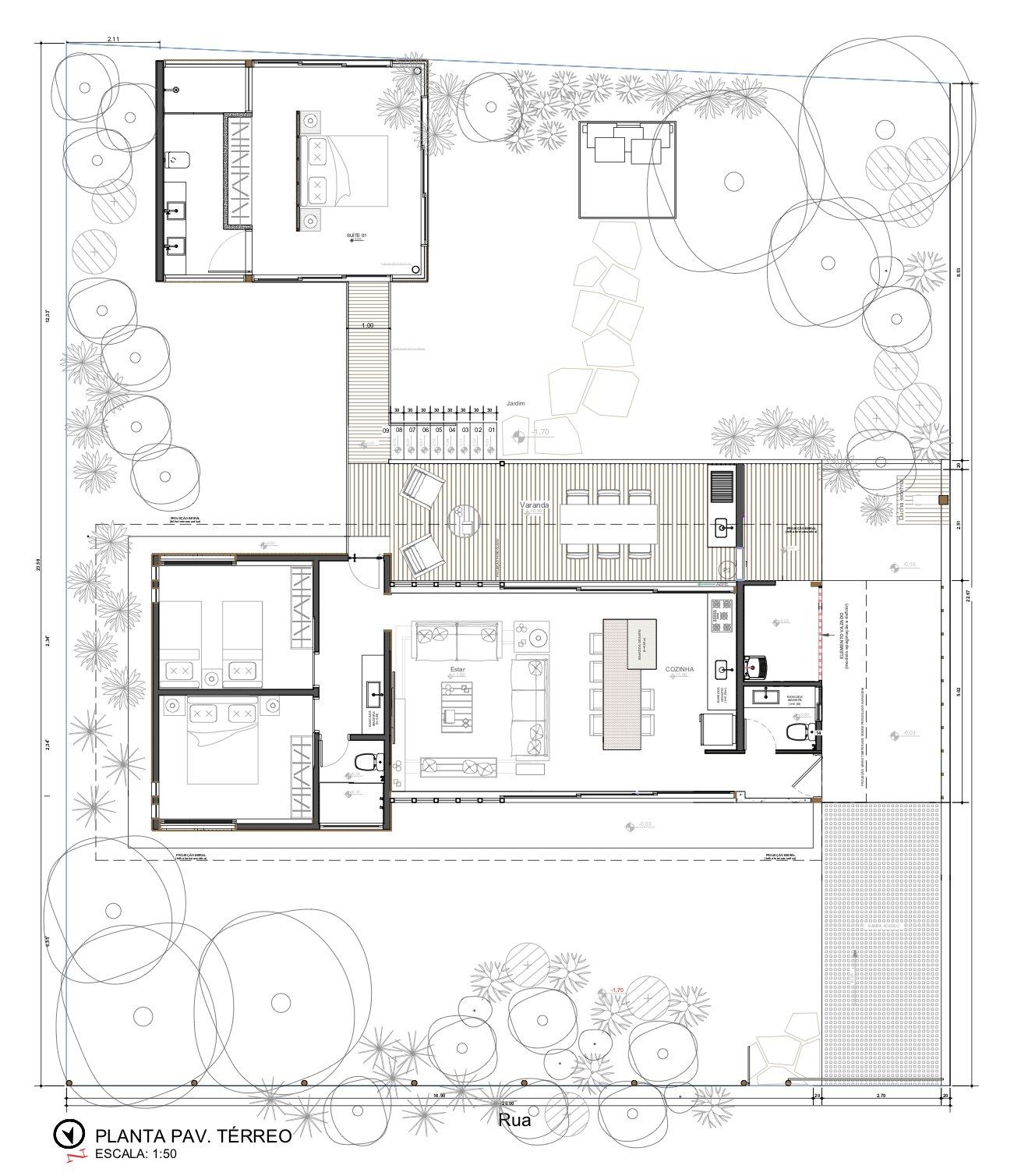 Casa Modelo floor plan