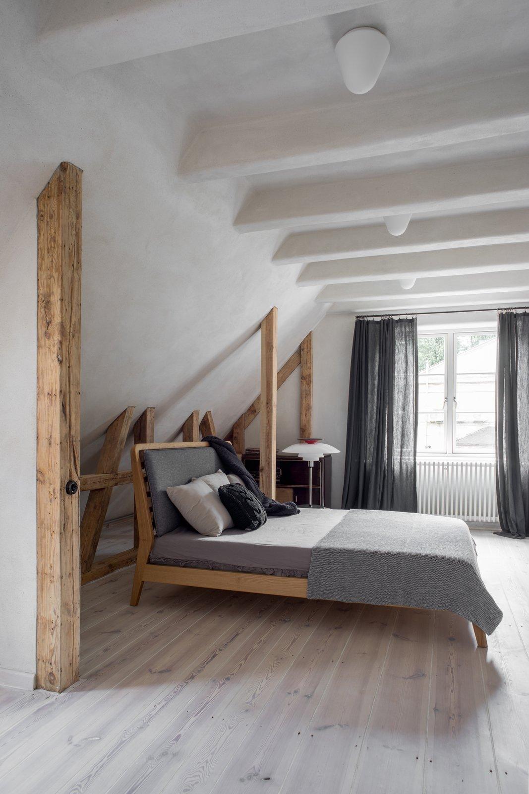 Loft Kolasiński master bedroom