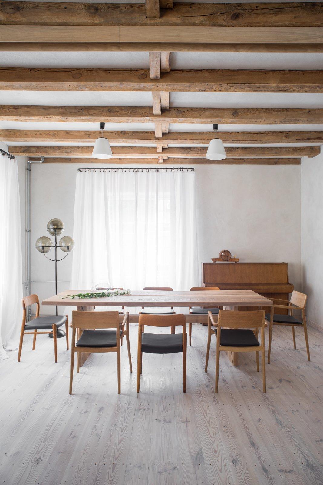 Loft Kolasiński dining room
