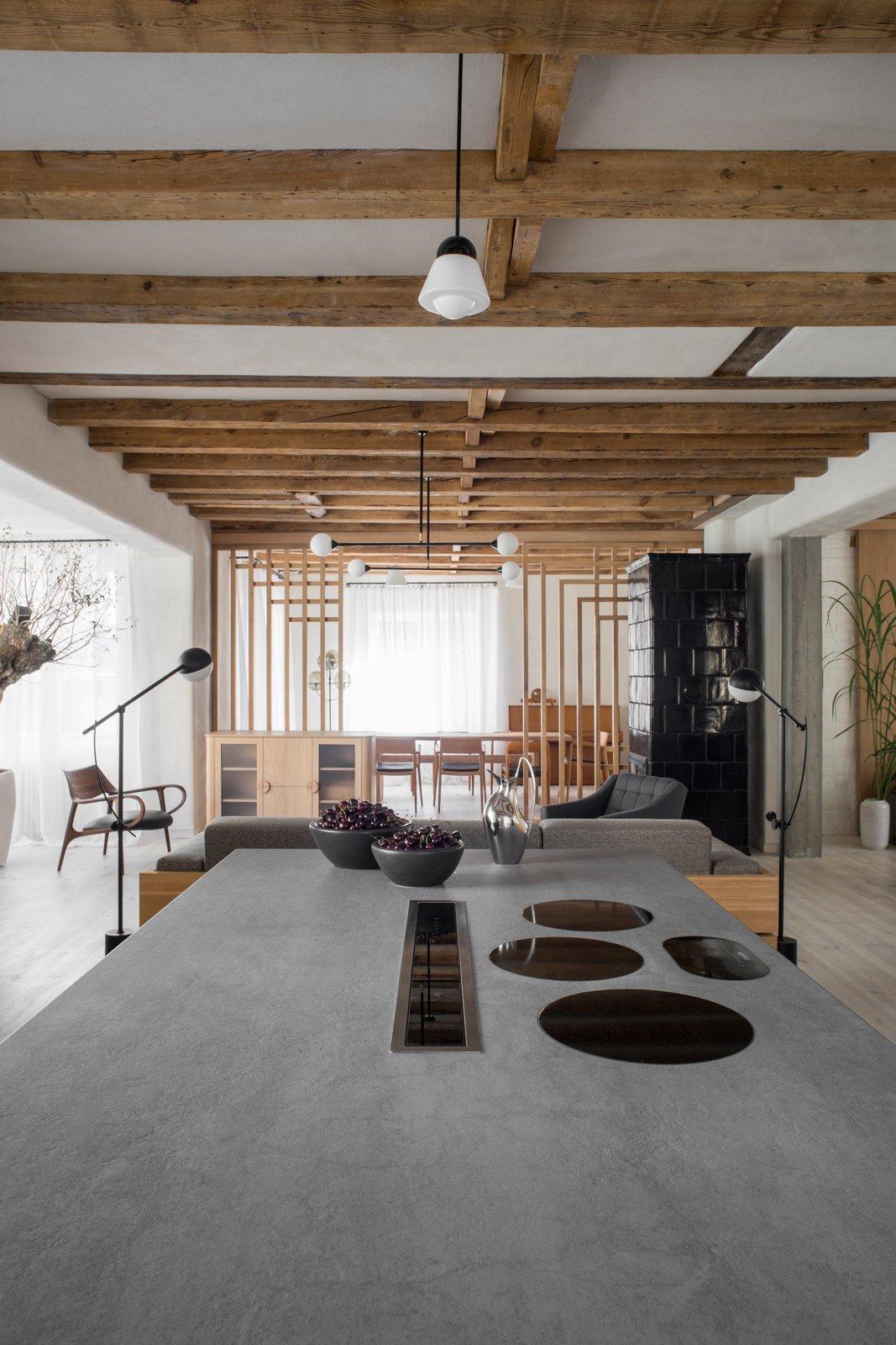 Loft Kolasiński kitchen island