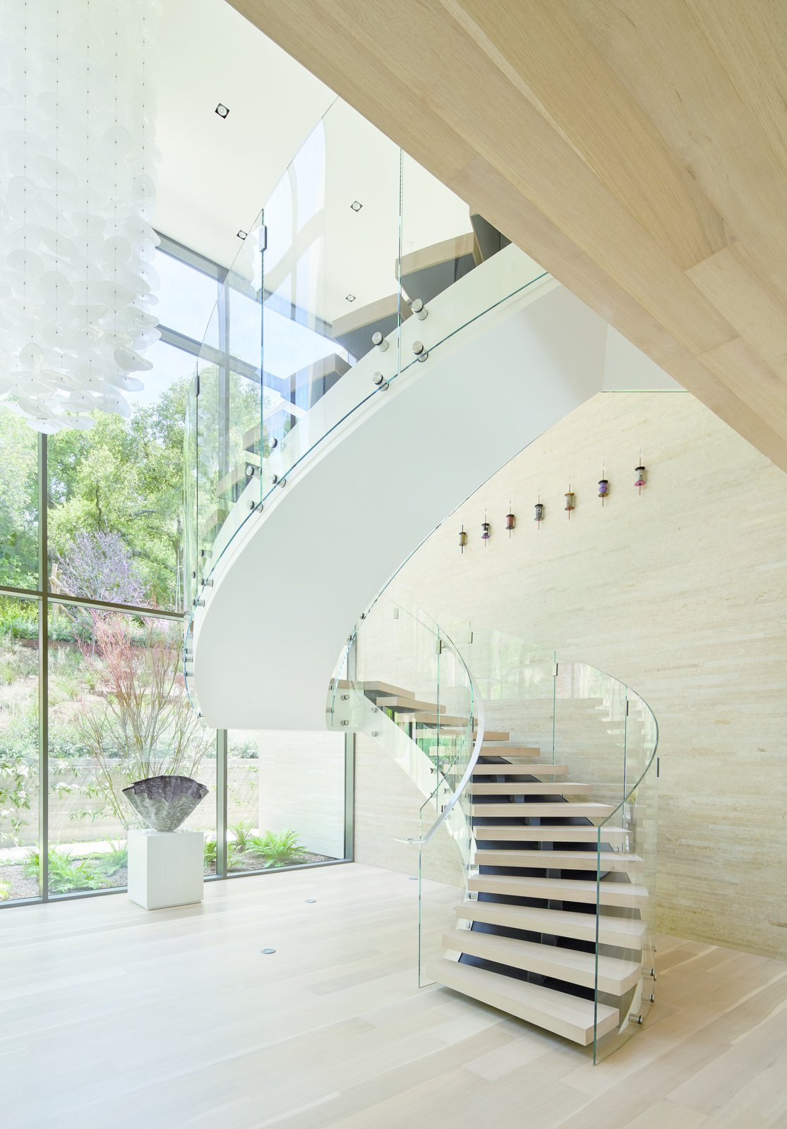 Bridge Residence staircase
