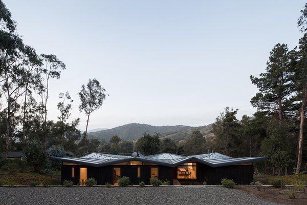 This Chilean Home's Folded Metal Roof Recalls the Art of Origami