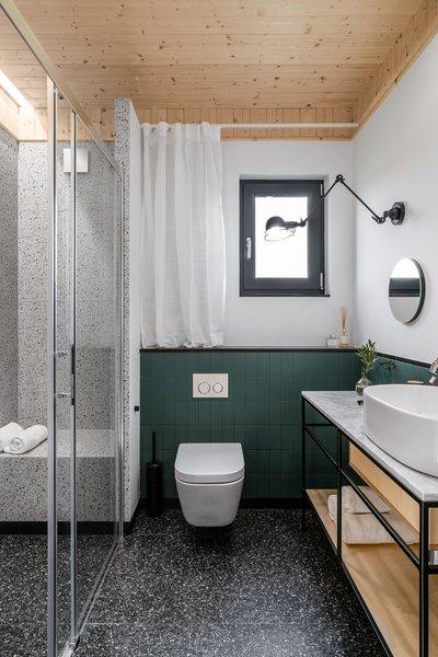Best 60+ Modern Bathroom Design Photos And Ideas - Dwell Narrow Bathroom Design Tile Rug on mexican tile design rug, kitchen tile rug, ceramic tile rug, faucet design rug,