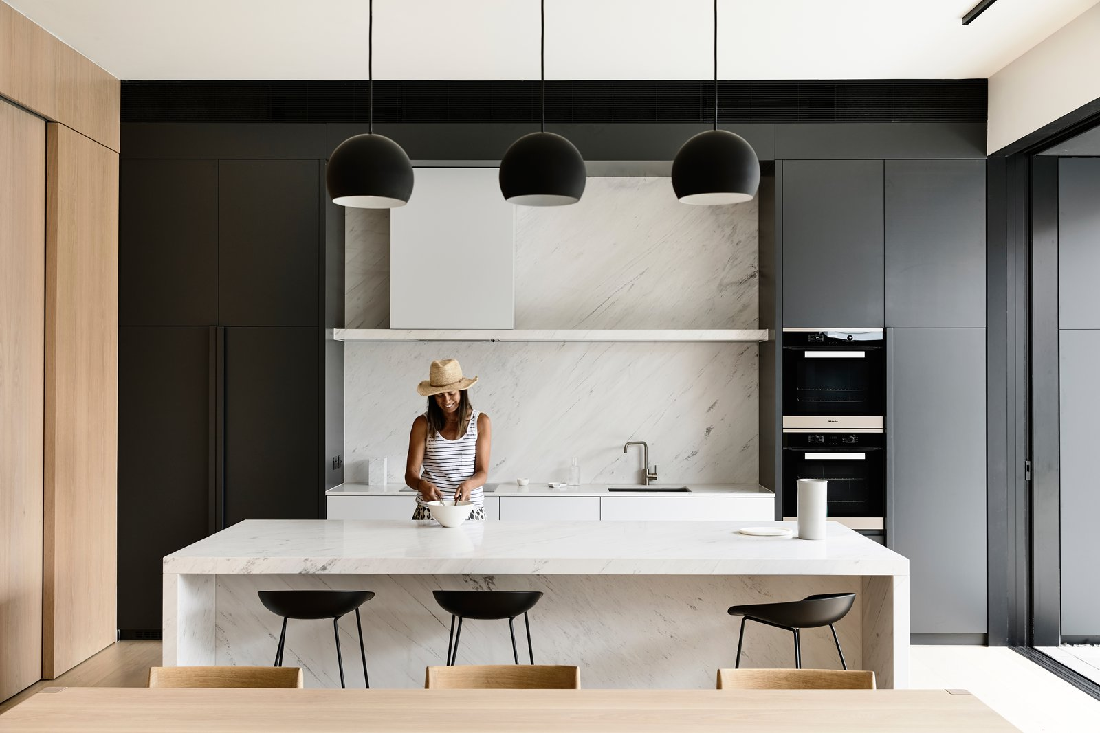 Elsternwick House kitchen