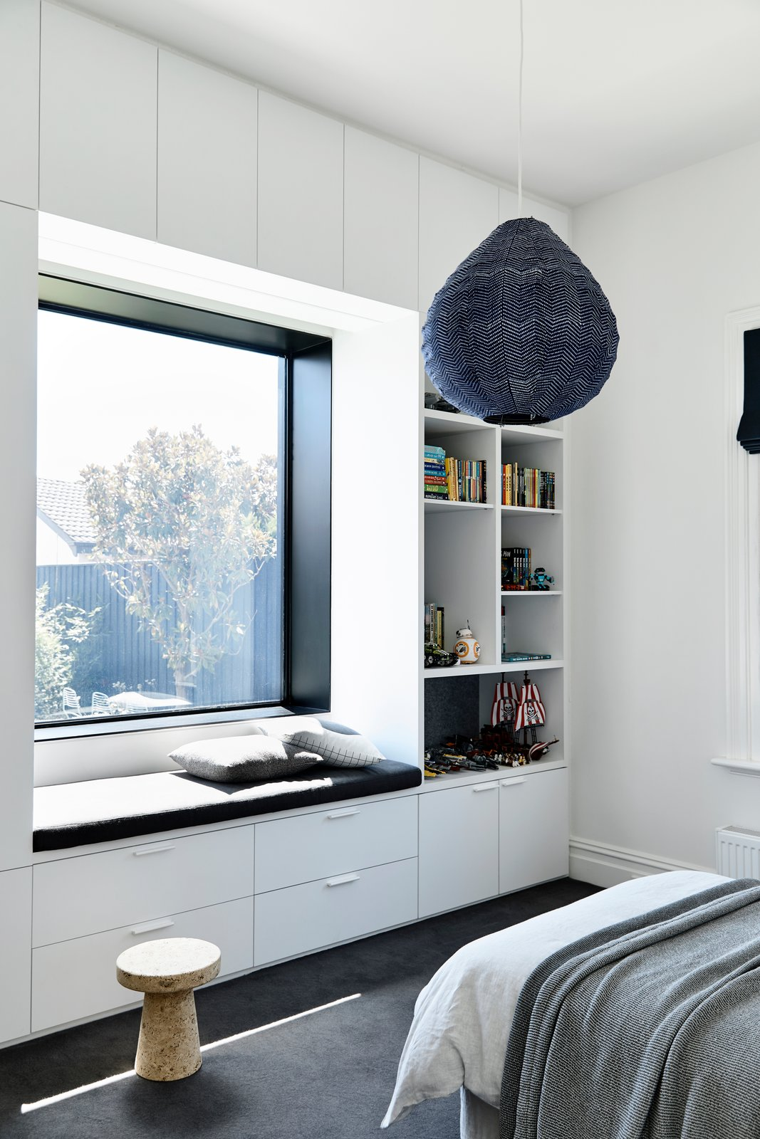 Elsternwick House bedroom nook