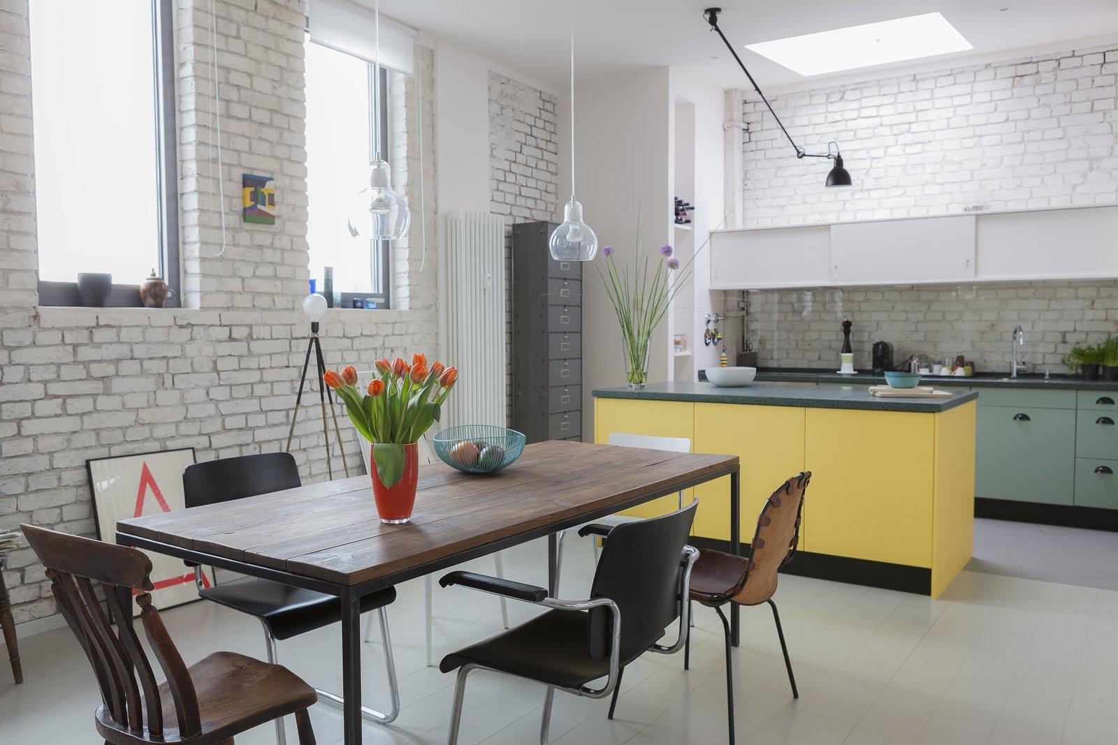 24 Hours Berlin penthouse dining area
