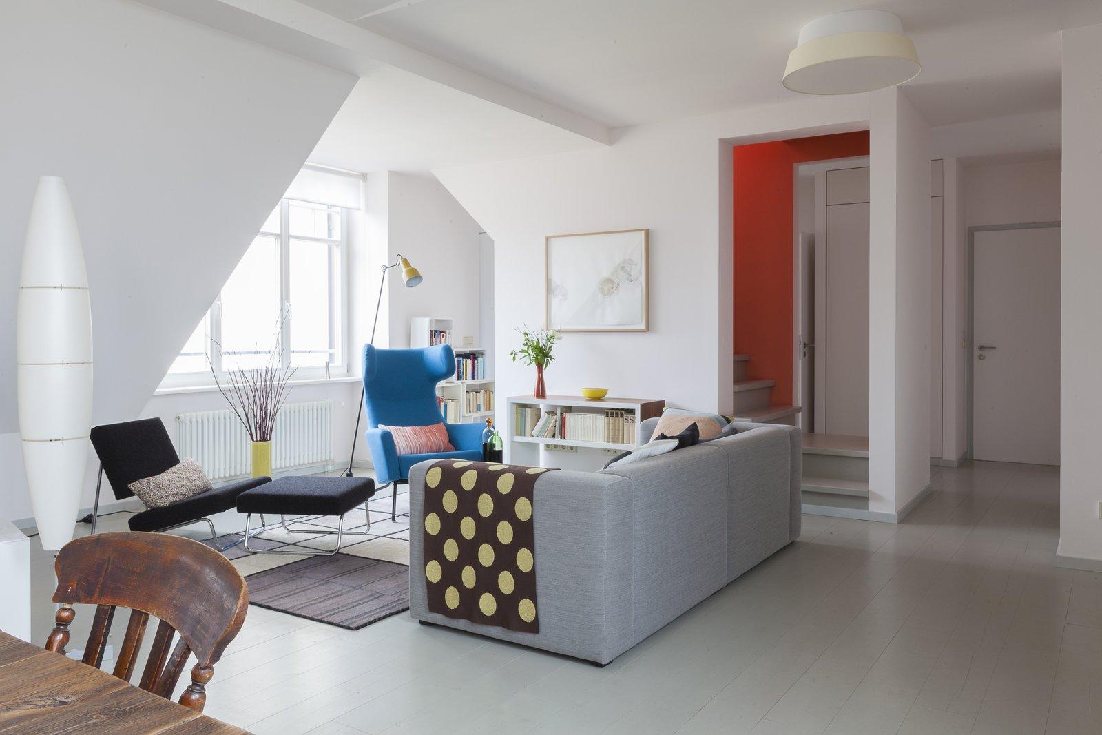 24 Hours Berlin penthouse living area