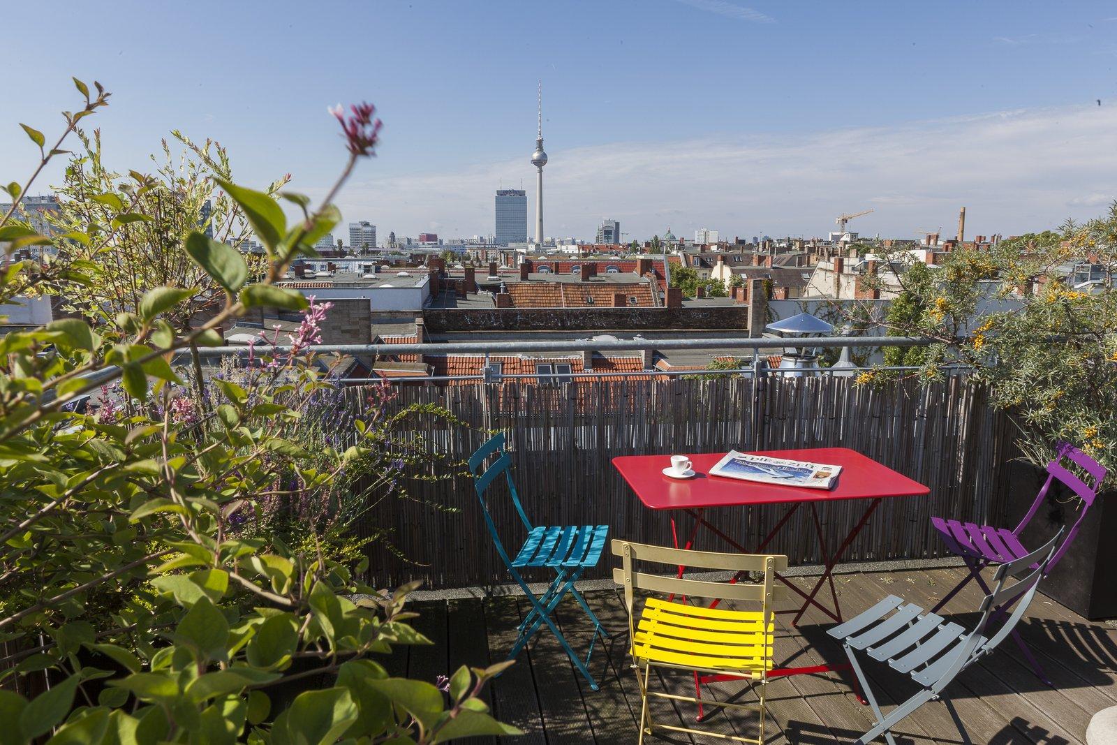 24 Hours Berlin penthouse rooftop terrace