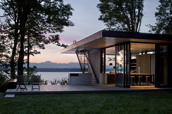 Case Inlet Retreat By Mw Works From Top 5 Homes Of The