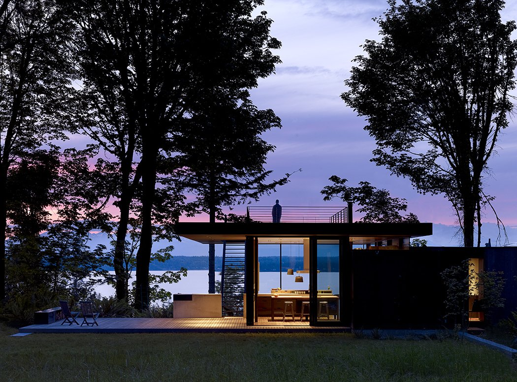 Case Inlet Retreat Tagged: Outdoor, Rooftop, and Back Yard.  Case Inlet Retreat by mw|works