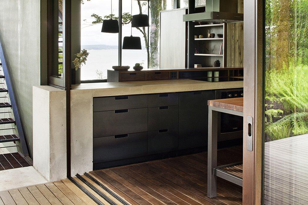 Kitchen Case Inlet Retreat  Case Inlet Retreat by mw works