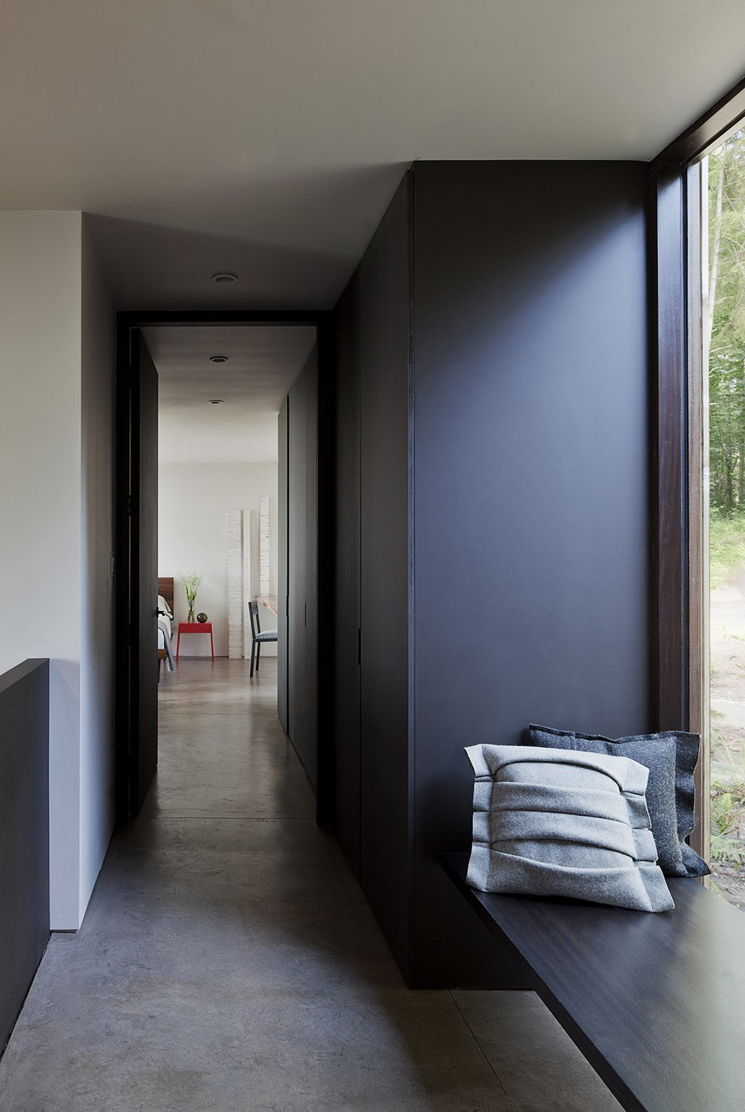 Hallway and Concrete Floor Case Inlet Retreat  Case Inlet Retreat by mw|works