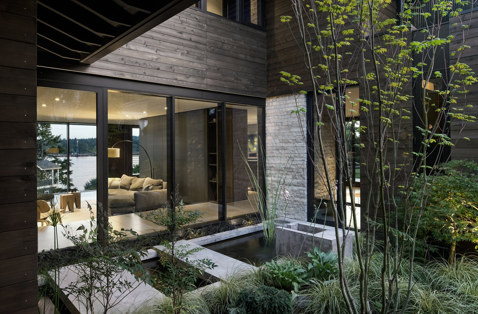 Outdoor, Gardens, and Concrete Pools, Tubs, Shower Laurelhurst Residence  Laurelhurst Residence by mw|works