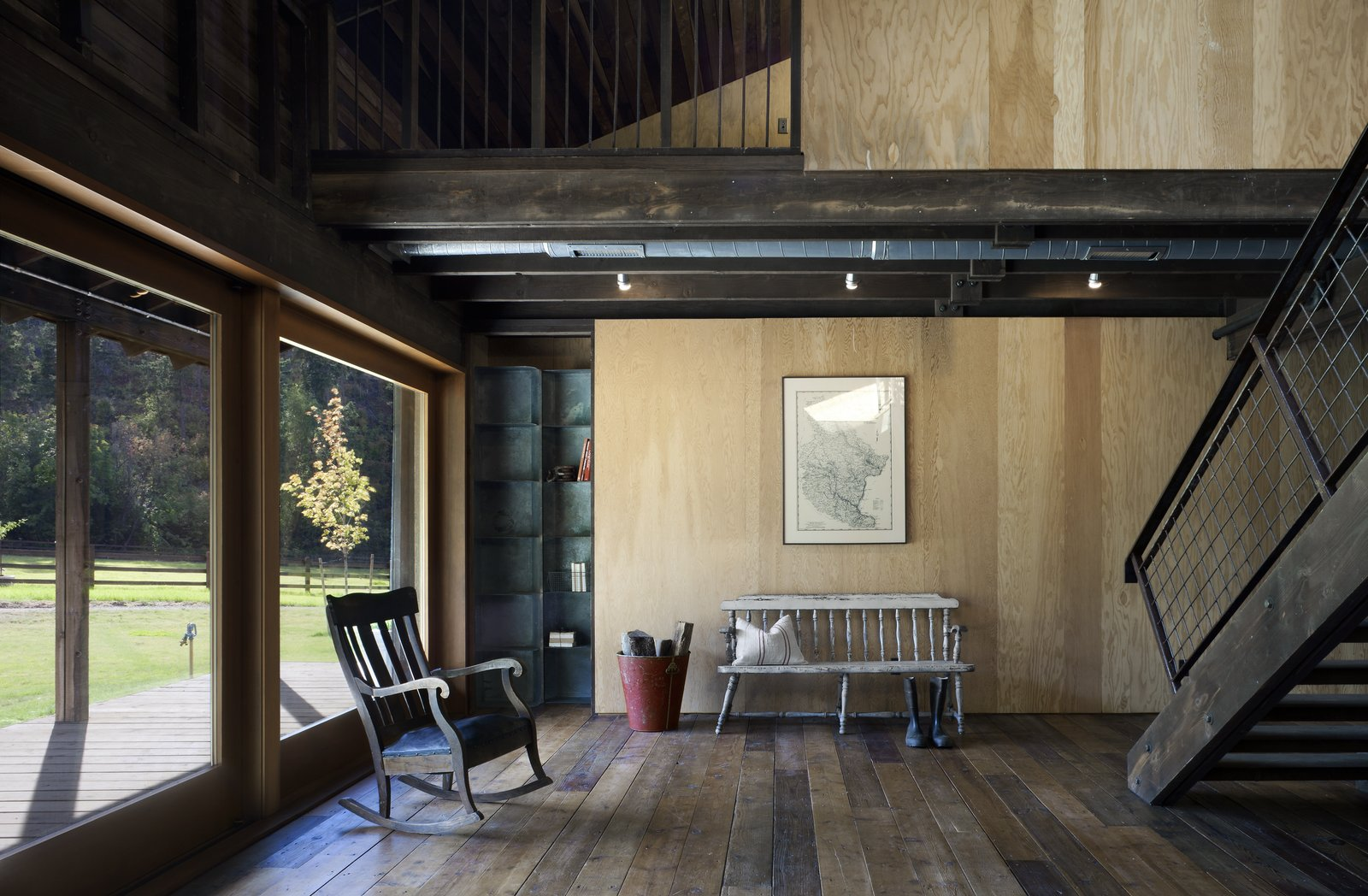 Living Room Canyon Barn  Best Photos