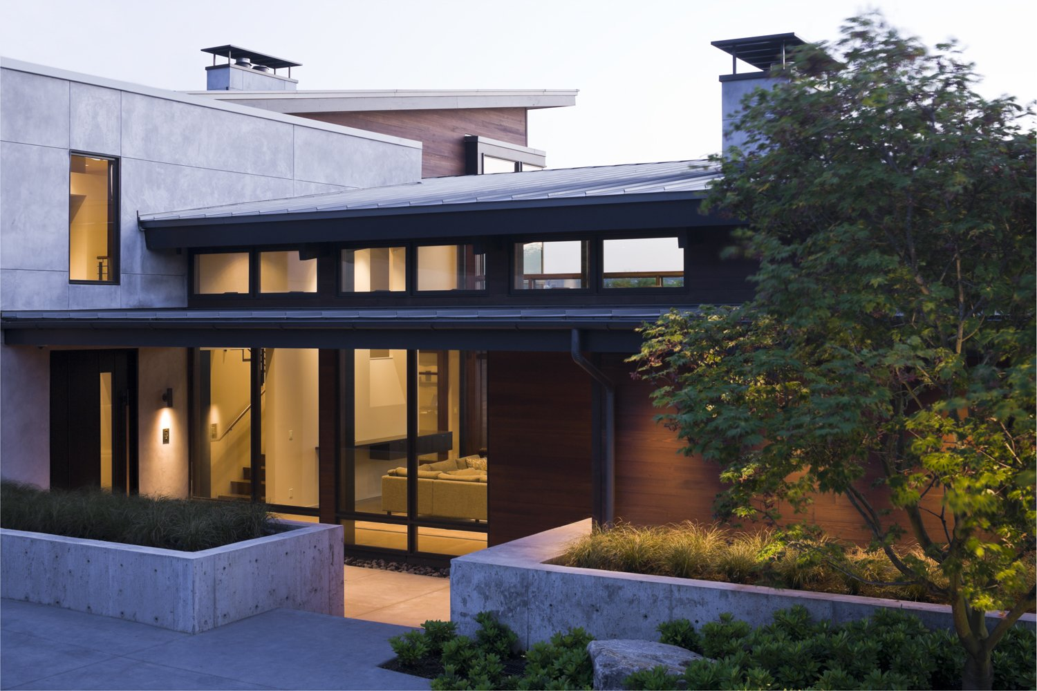 Outdoor Mountain View Residence  Mountain View Residence by SkB Architects
