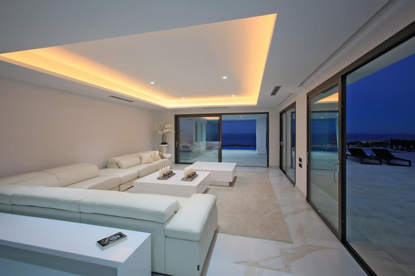 Night view of lounge
