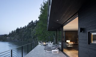 Outdoor Deck at Living & Dining Rooms