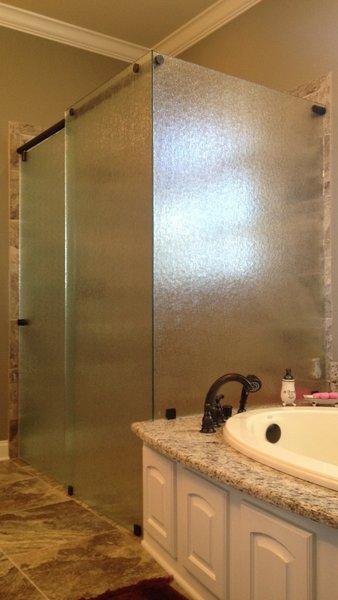 Sliding Shower Doors Modern Home in Waco, Texas on Dwell