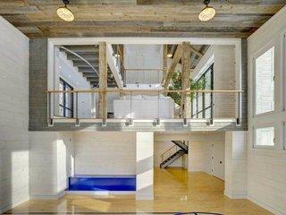 1/2 basketball court Architect: James Dixon, Railings:  Keuka Studios, inc