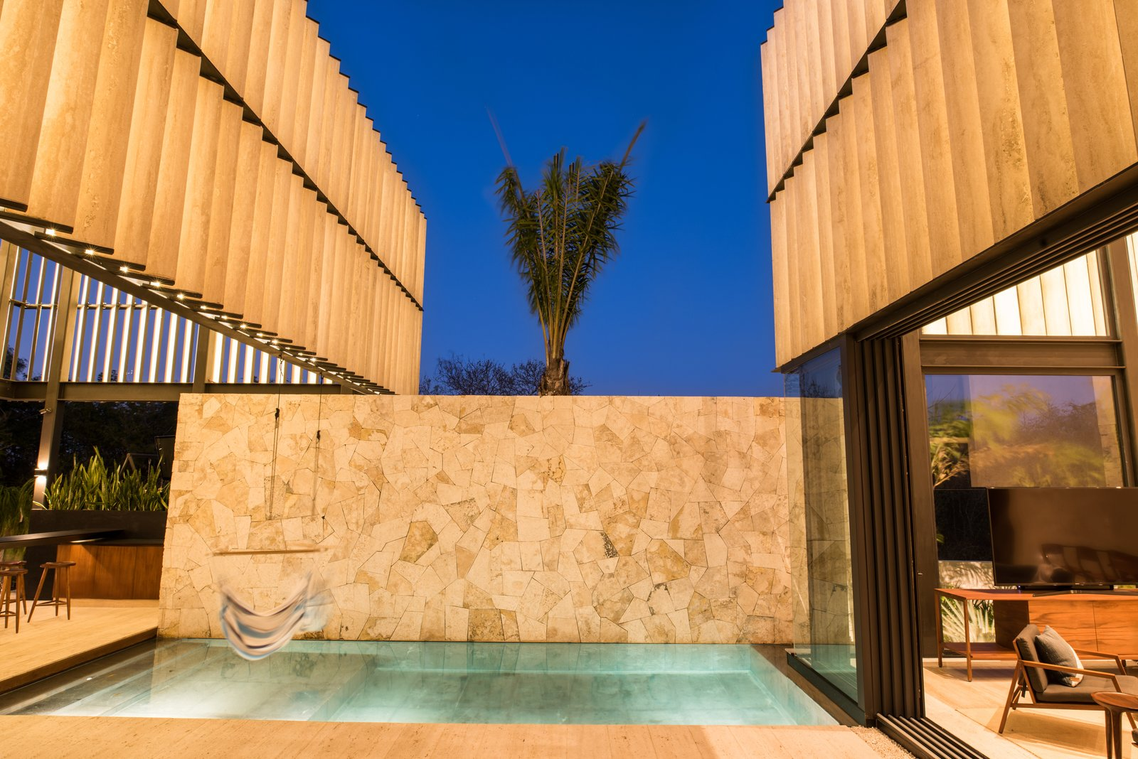 Outdoor, Standard Construction Pools, Tubs, Shower, and Back Yard Pool (cenote)  Casa Chaaltun by tescala