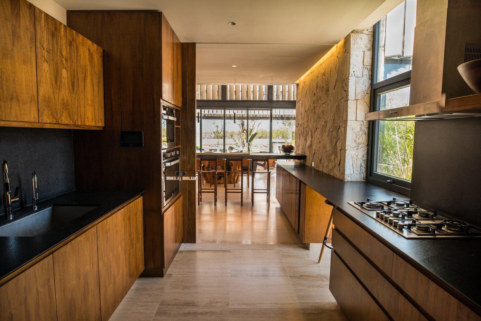 Kitchen  Casa Chaaltun by tescala