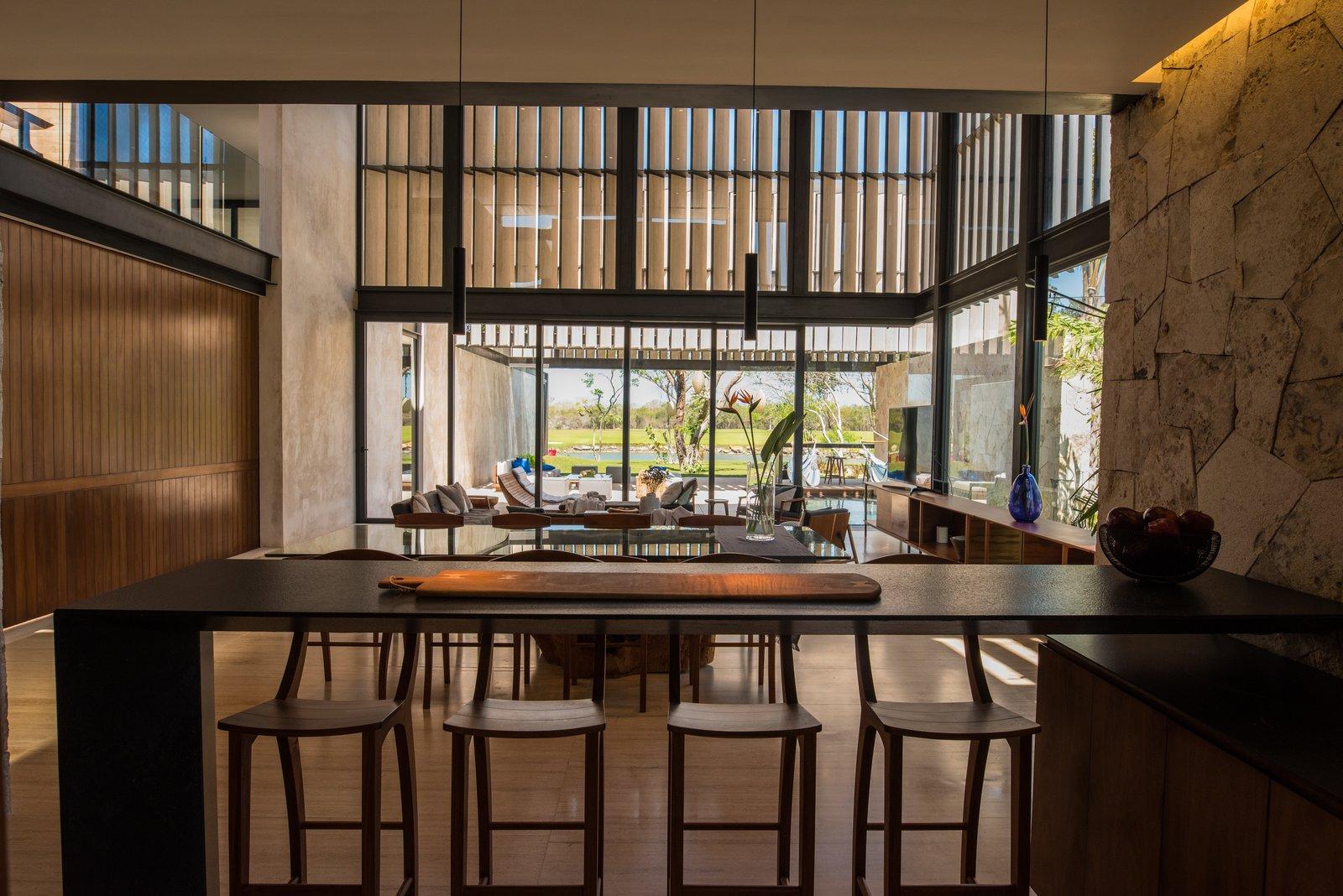 Kitchen bar  Casa Chaaltun by tescala