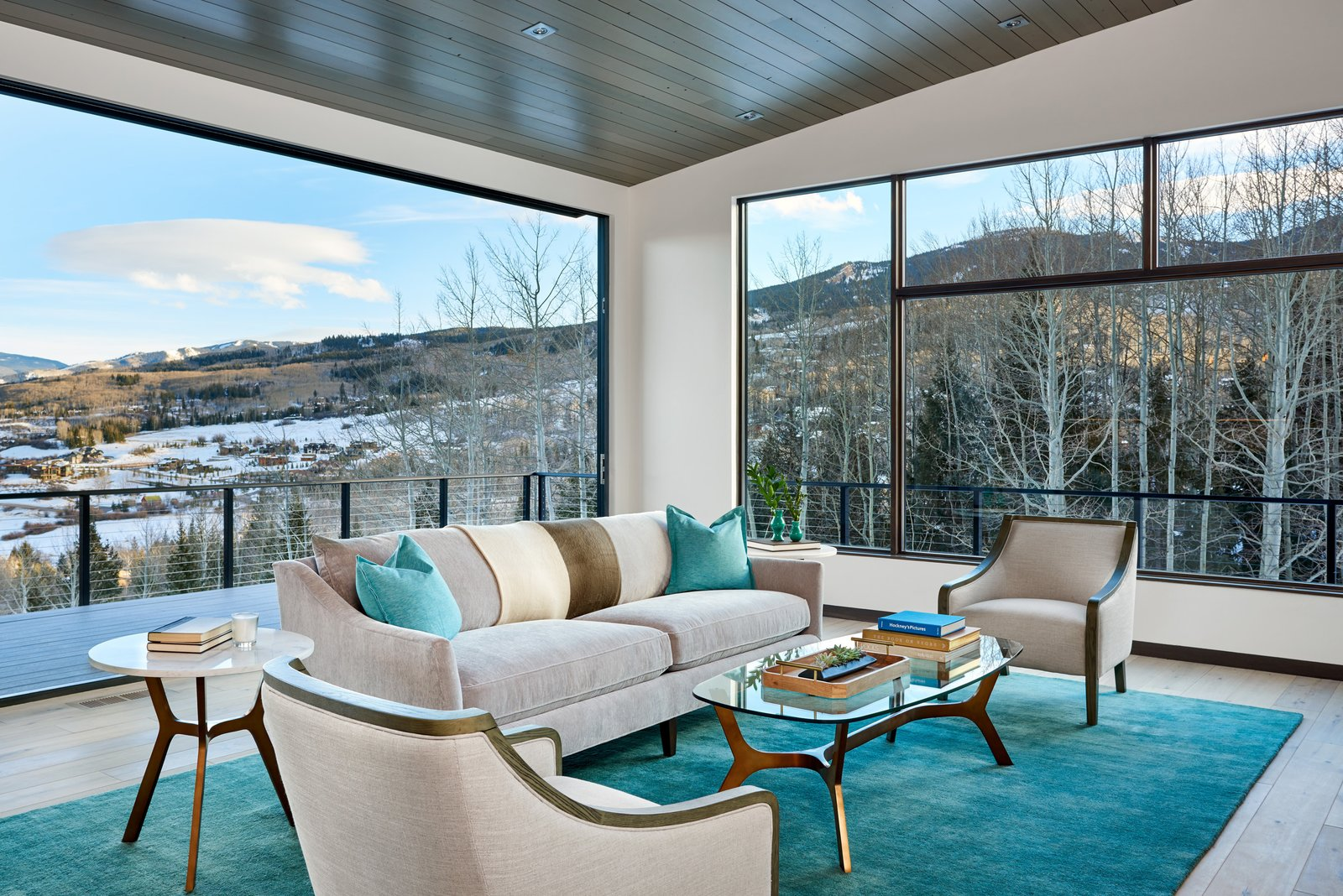 Doors, Metal, Folding Door Type, and Interior Folding wall opens up to the views and outdoor living space beyond.  Terrace Drive by KA DesignWorks