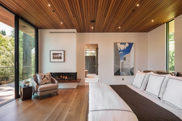 804 sq.ft master suite with a bespoke Koa Wood bed and private deck