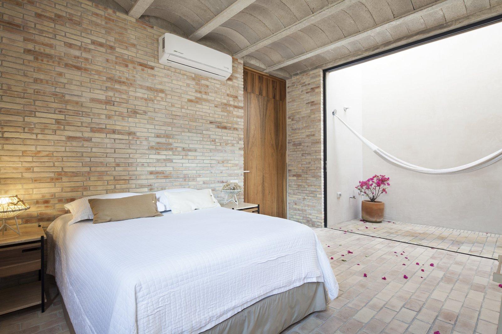 Outdoor and Small Patio, Porch, Deck Bedroom.  Casa Iguana by OBRA BLANCA