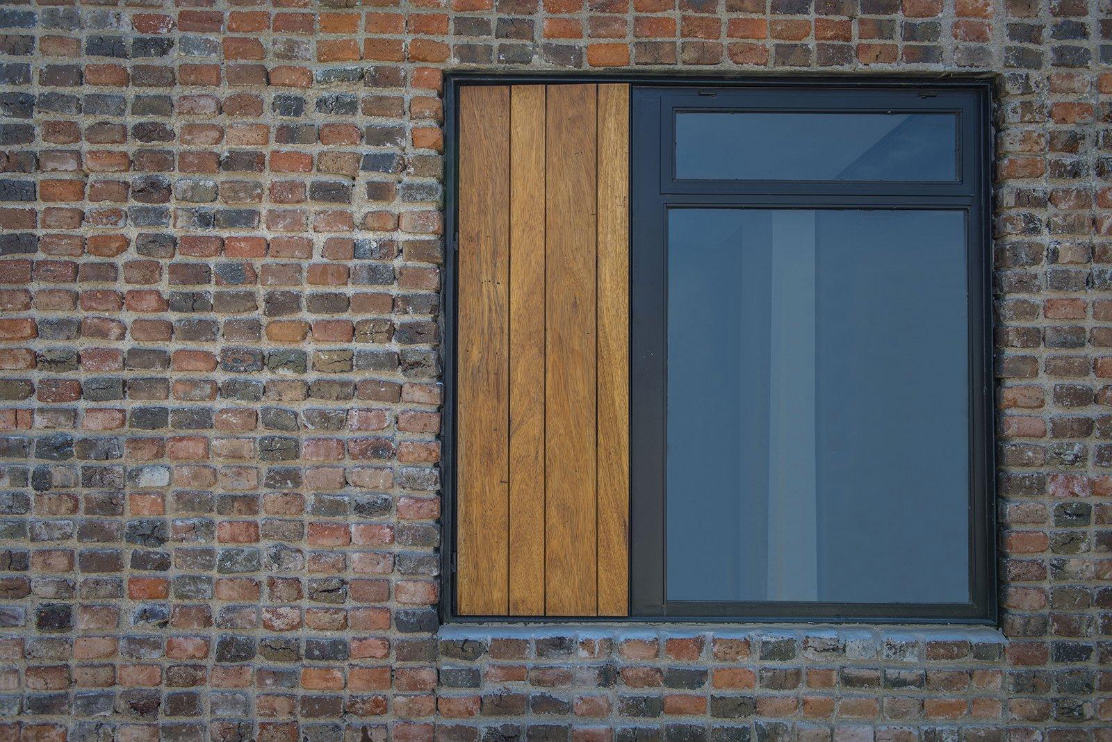 Outdoor Detail - Window  Casa MA by e|arquitectos