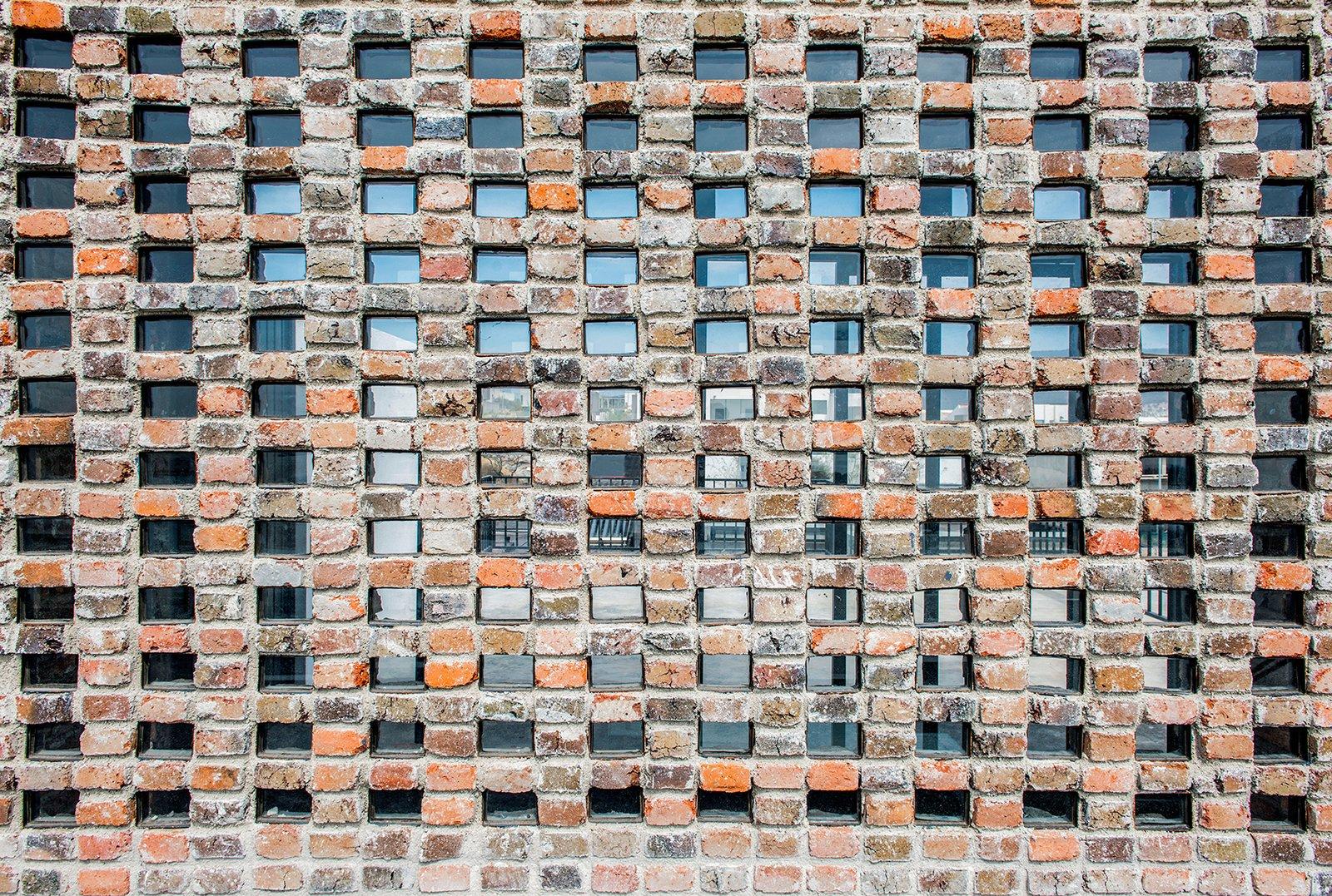 Detail - Masonry  Casa MA by e arquitectos
