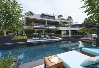 Pool, garden