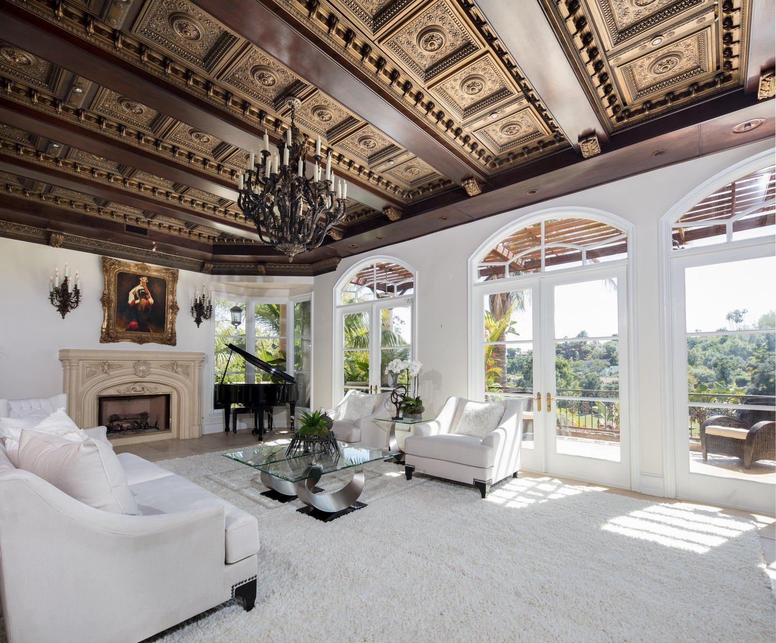 Living Room with Golf Course Views  Bella Villa Resort