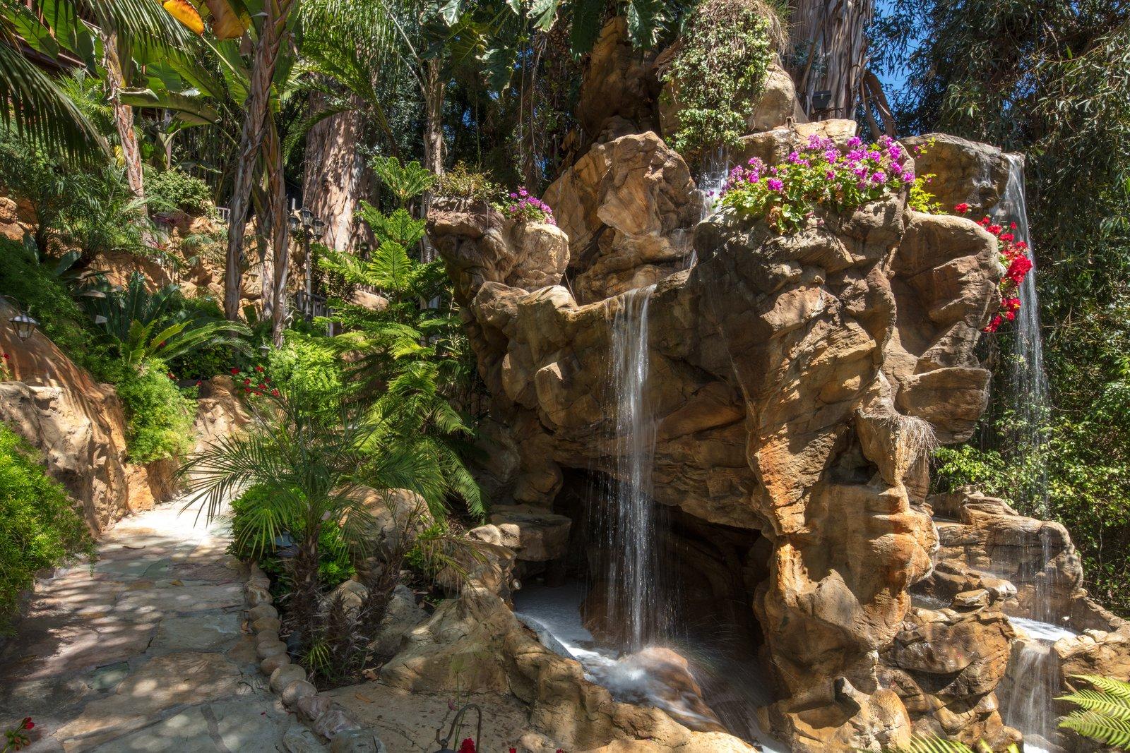 Waterfall  Bella Villa Resort