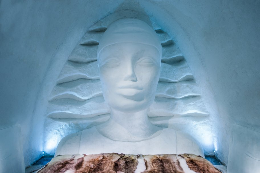 Icehotel Sweden Icewoman ice suite