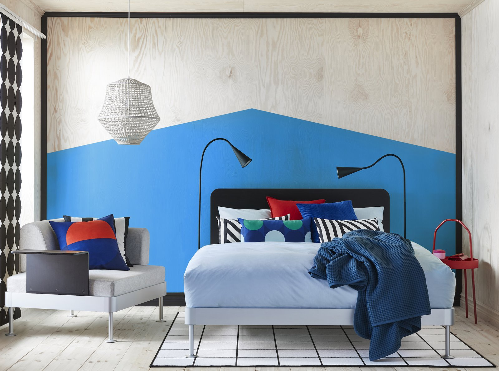 tom dixon 39 s latest ikea collaboration is a hackable bed forrest ballou. Black Bedroom Furniture Sets. Home Design Ideas