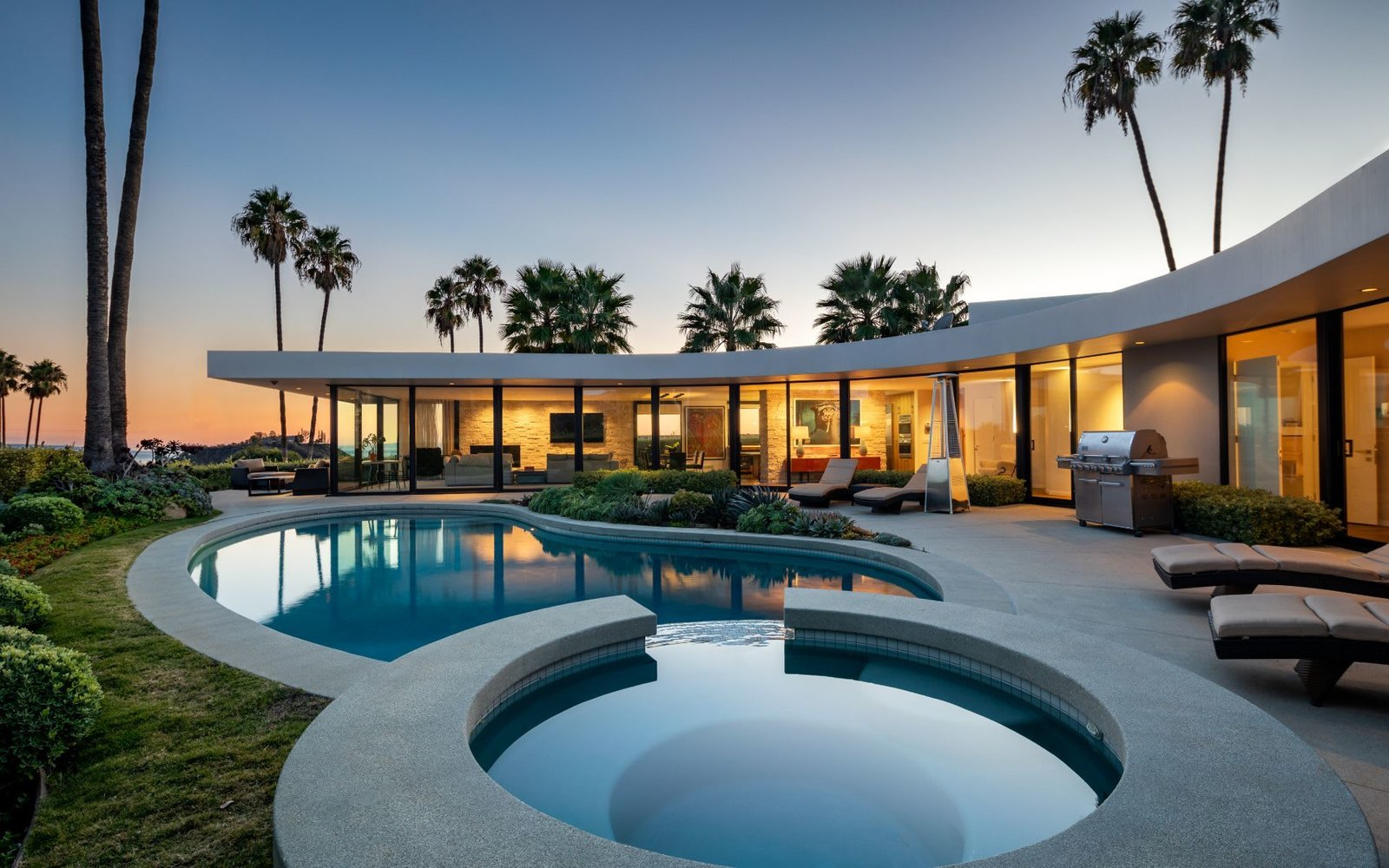 Tech CEO and billionaire Elon Musk just listed the smallest of his four L.A. homes—and it's larger than life.