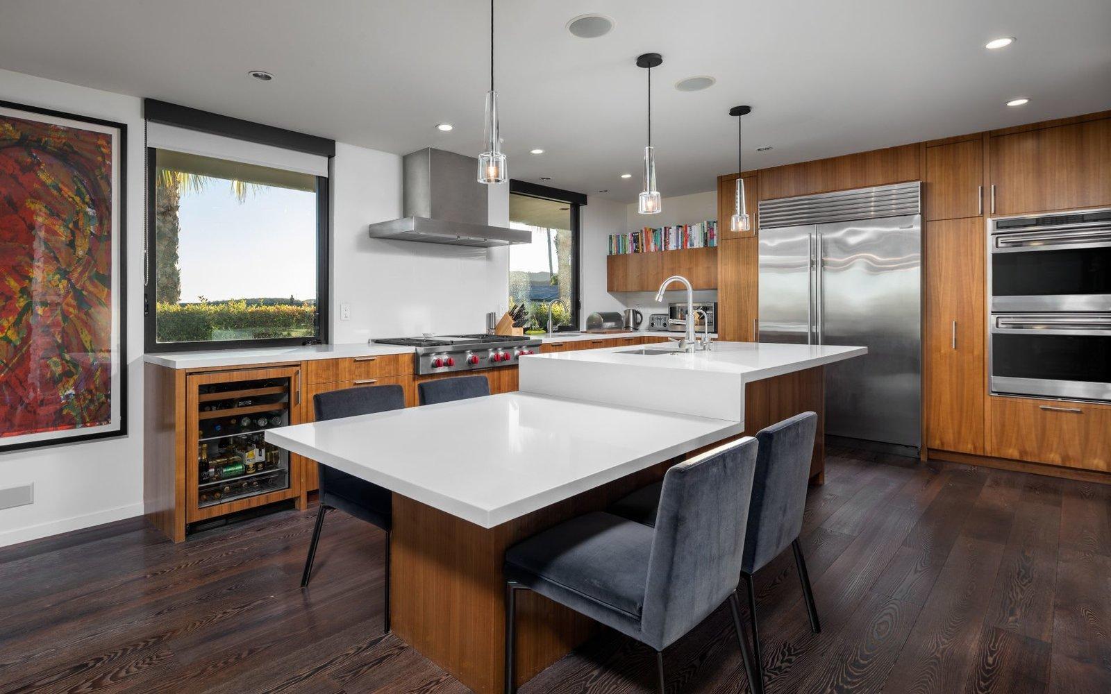 Elon Musk Midcentury Home kitchen