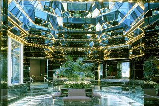 The iconic lobby at Ambassador Grill has been designated a New York City landmark.