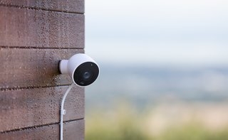 Nest Cam IQ Outdoor is fully weatherproof and tamper-proof. But you'll need to buy an adapter kit if you want to plug it into an outdoor outlet.