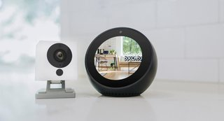 The Wyze Cam camera is the least expensive indoor WiFi camera option.