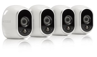 Arlo's outdoor cameras are battery powered and come with magnetic mounts, making moving and adjusting them simple.