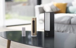 Netatmo's system includes a video doorbell, an indoor camera, and an outdoor camera with a floodlight. The range is compatible with Apple's HomeKit.