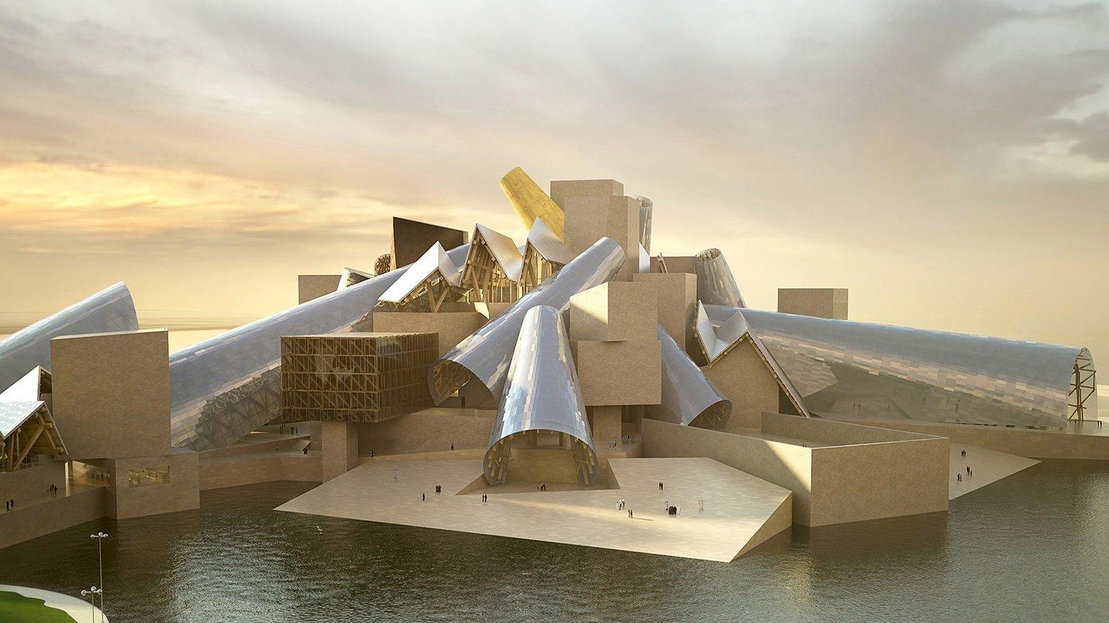 Frank Gehry's Guggenheim Abu Dhabi Set to Break Ground