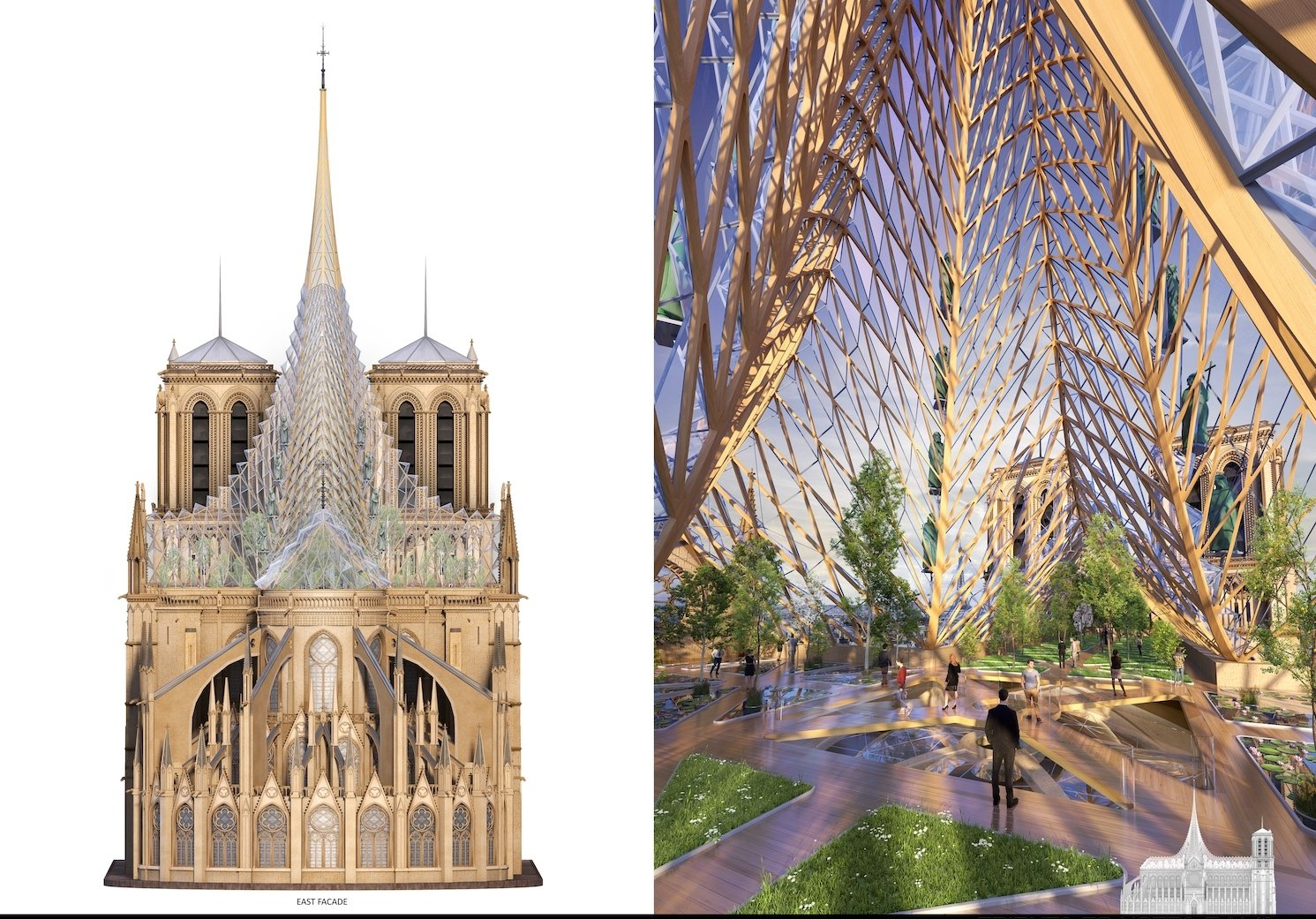 Notre Dame Cathedral Urban Farm