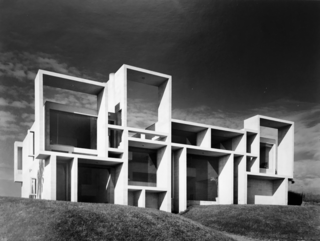 The Milam Residence in January, 1962, one year after its completion.