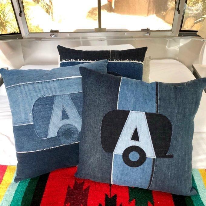Airstream travel pillows by Amanda Beckman