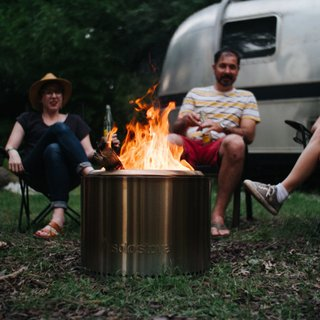 The Solo Stove Bonfire is the perfect portable fire pit. With almost no smoke and a technology that creates a second combustion leaving virtually no ash, this is a cleaner, greener campfire.