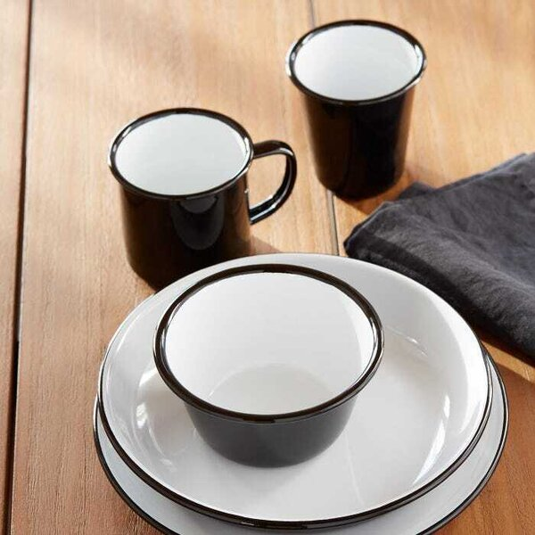 """San Francisco-based interior designer Ellen Nystrom likes to select simple, white dinner plates so that the food is the focal point. """"I love these Falcon Black Enamelware plates from Unison Home because that crisp black line around the edge adds a subtle graphic element that frames the food.""""  An iconic British material, enamelware features a <span style=""""font-family: Theinhardt, -apple-system, BlinkMacSystemFont, """"Segoe UI"""", Roboto, Oxygen-Sans, Ubuntu, Cantarell, """"Helvetica Neue"""", sans-serif;"""">porcelain enamel coating fused onto heavy-gauge steel, making this material oven-proof, dishwasher-proof, and truly life-proof.</span>'></a></noindex></noindex><figcaption> <p>San Francisco–based interior designer Ellen Nystrom likes to select simple, white dinner plates so that the food is the focal point. """"I love these Falcon Black enamelware plates from Unison Home because that crisp, black line around the edge adds a subtle graphic element that frames the food,"""" she says. An iconic British material, enamelware features aporcelain enamel coating fused onto heavy-gauge steel, making this material oven-proof, dishwasher-proof, and totally life-proof.</p> <p>Photo: <noindex><noindex><a target=""""_blank"""" rel=""""nofollow"""" href=""""https://www.dwell.com/@unison"""" target=""""_blank"""" rel=""""nofollow"""" profileid=""""6133522412092461056"""">Unison</a></noindex></noindex></p> </figcaption></figure> <p><b>See the full story on Dwell.com: <noindex><noindex><a target=""""_blank"""" rel=""""nofollow"""" href=""""https://www.dwell.com/article/how-much-to-spend-on-dinnerware-set-79a01bc4"""" target=""""_blank"""" rel=""""nofollow"""" >How Much Should You Spend on Dinnerware?</a></noindex></noindex></b><br /><span>Related stories:</span></p> <ul> <li><b><noindex><noindex><a target=""""_blank"""" rel=""""nofollow"""" href=""""https://www.dwell.com/article/debrand-your-home-d539cde9"""" target=""""_blank"""" rel=""""nofollow"""" >Dwell On This: Debrand Your Home</a></noindex></noindex></b></li> <li><b><noindex><noindex><a target=""""_blank"""" rel=""""nofollow"""" href=""""https://www"""