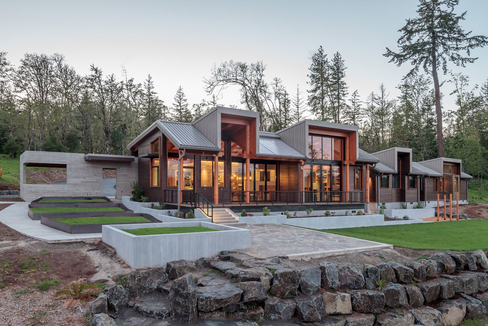 home design eugene oregon timberidge modern home in eugene oregon by 2form architecture on dwell 4296